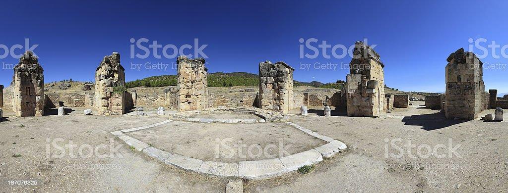 Hierapolis stock photo
