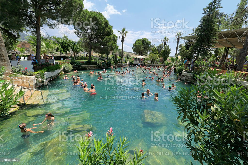 Hierapolis stock photo