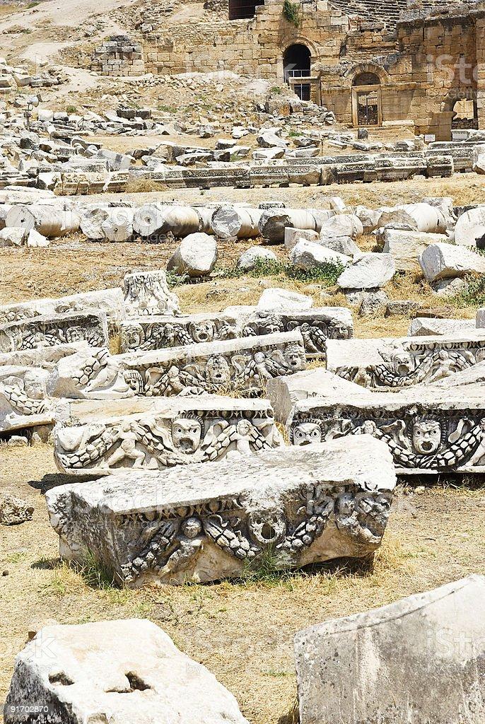 Hierapolis, Turkey. royalty-free stock photo