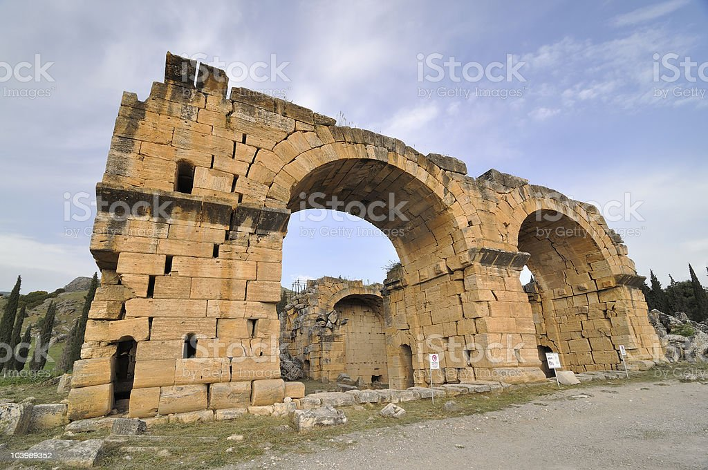 Hierapolis,Denizli,Turkey stock photo