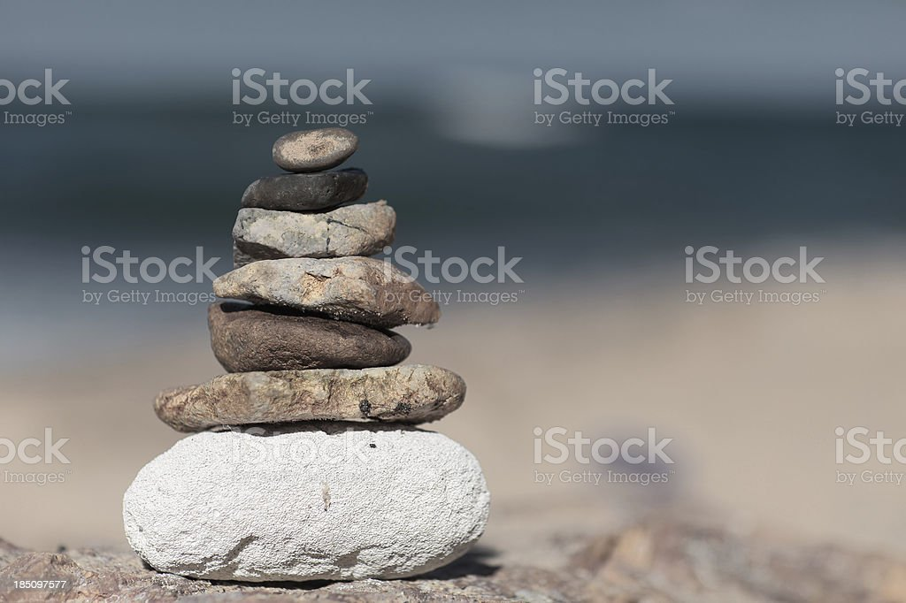 Hierarchy and Balance royalty-free stock photo