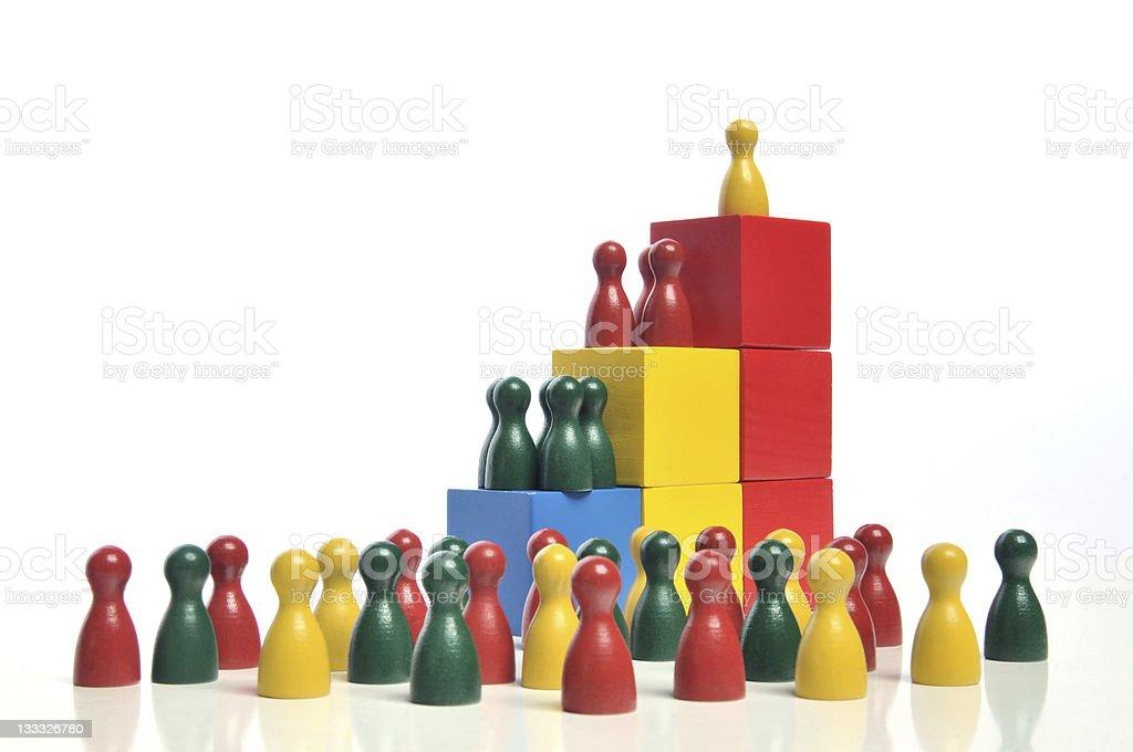 Hierarchy stock photo