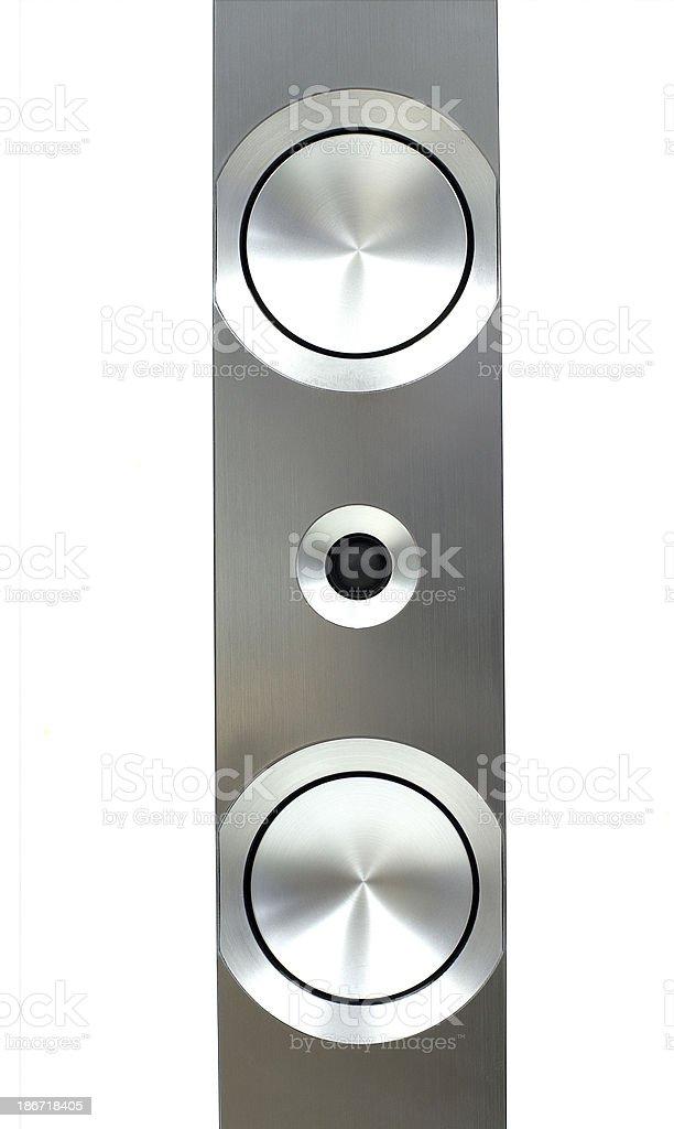 Hi-Fi loundspeaker stock photo