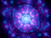 Higgs boson fractal artwork