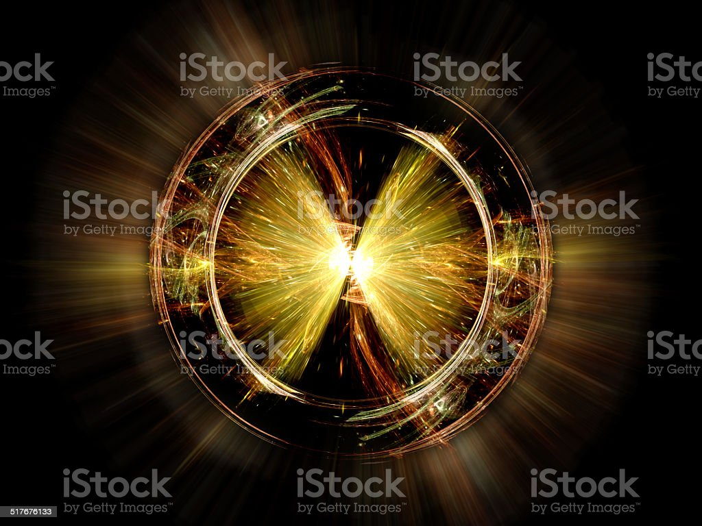 Higgs boson particle stock photo