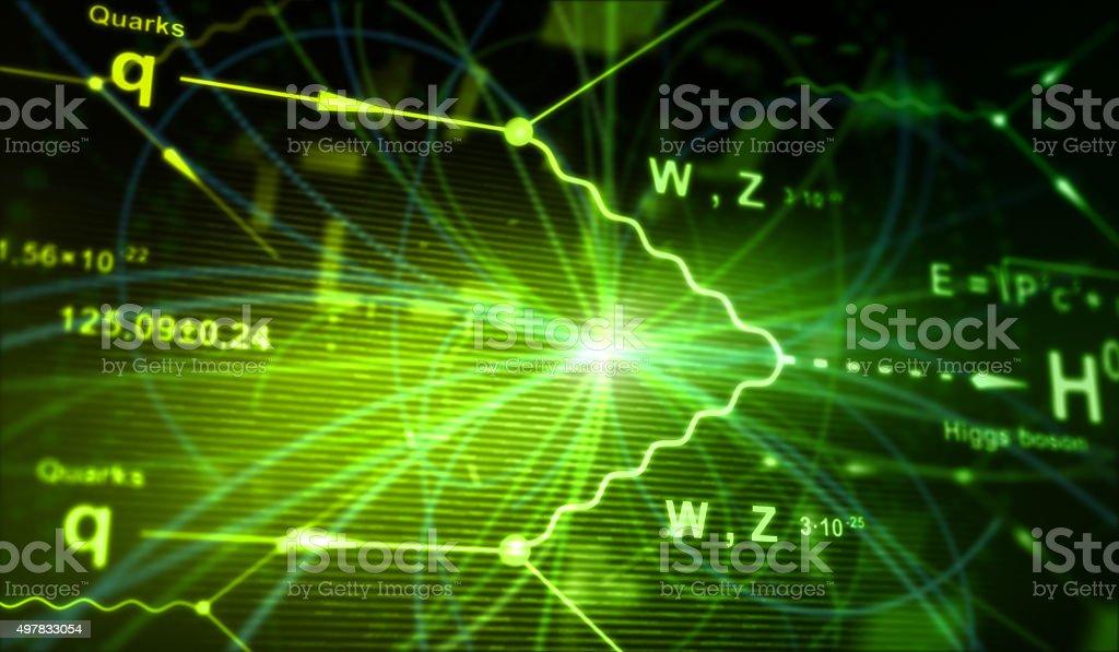 Higgs Boson stock photo