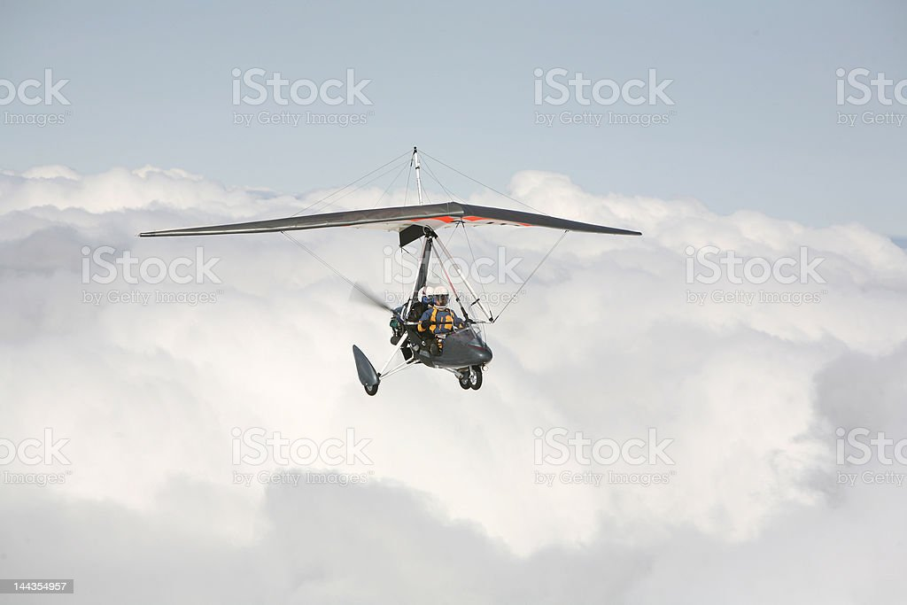 High above the clouds royalty-free stock photo