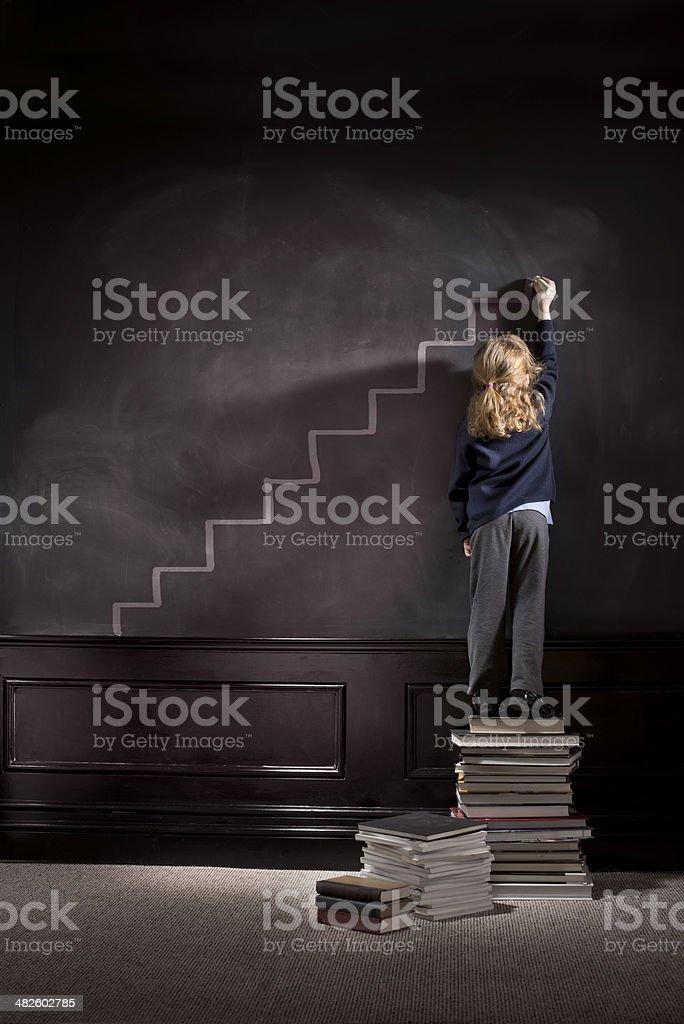 high achiever stock photo