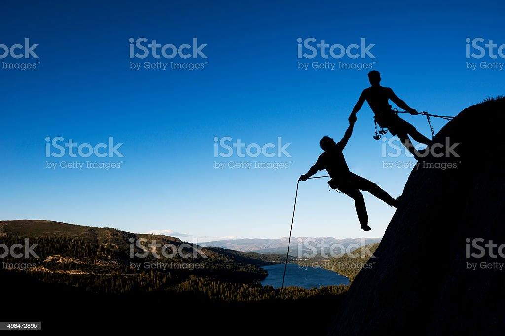high adventure stock photo