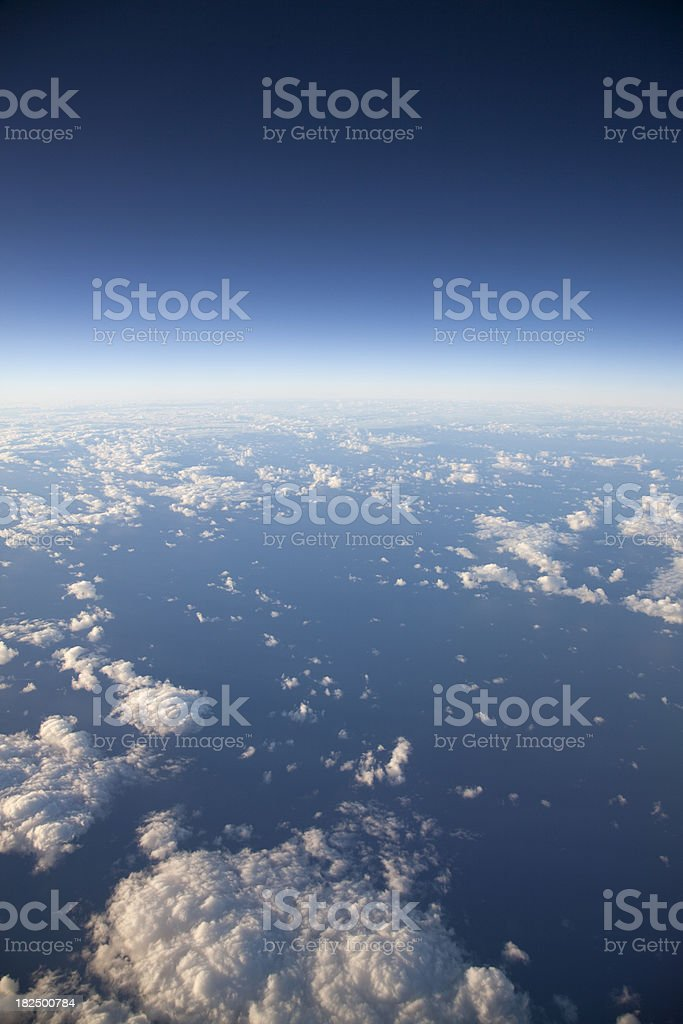High Altitude Earth royalty-free stock photo