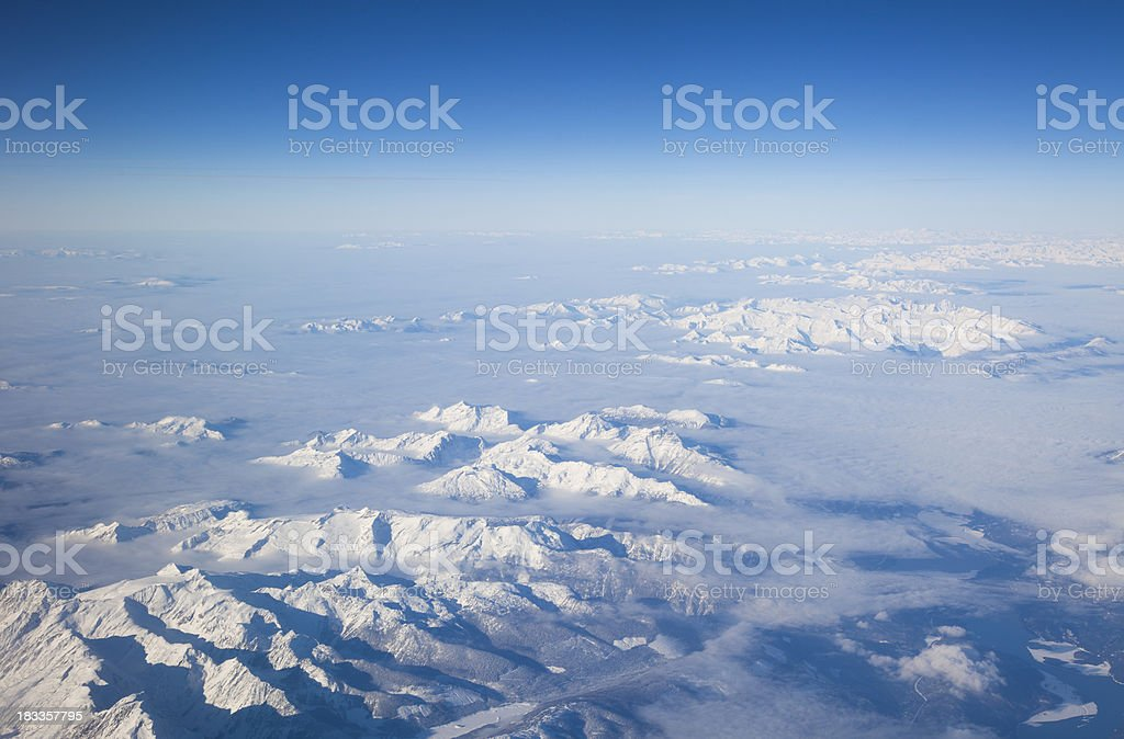 High Altitude Mountains royalty-free stock photo
