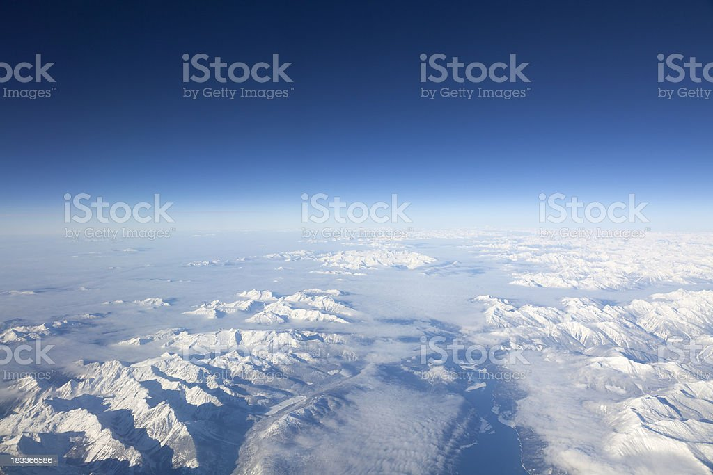 High Altitude Mountains royalty-free stock photo