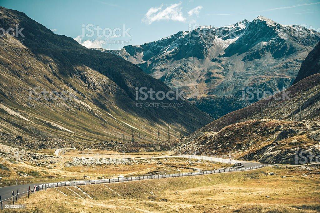 High altitude stock photo
