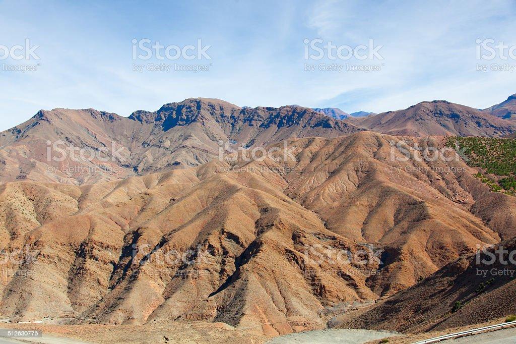 High Atlas mountains, Morocco, Africa stock photo