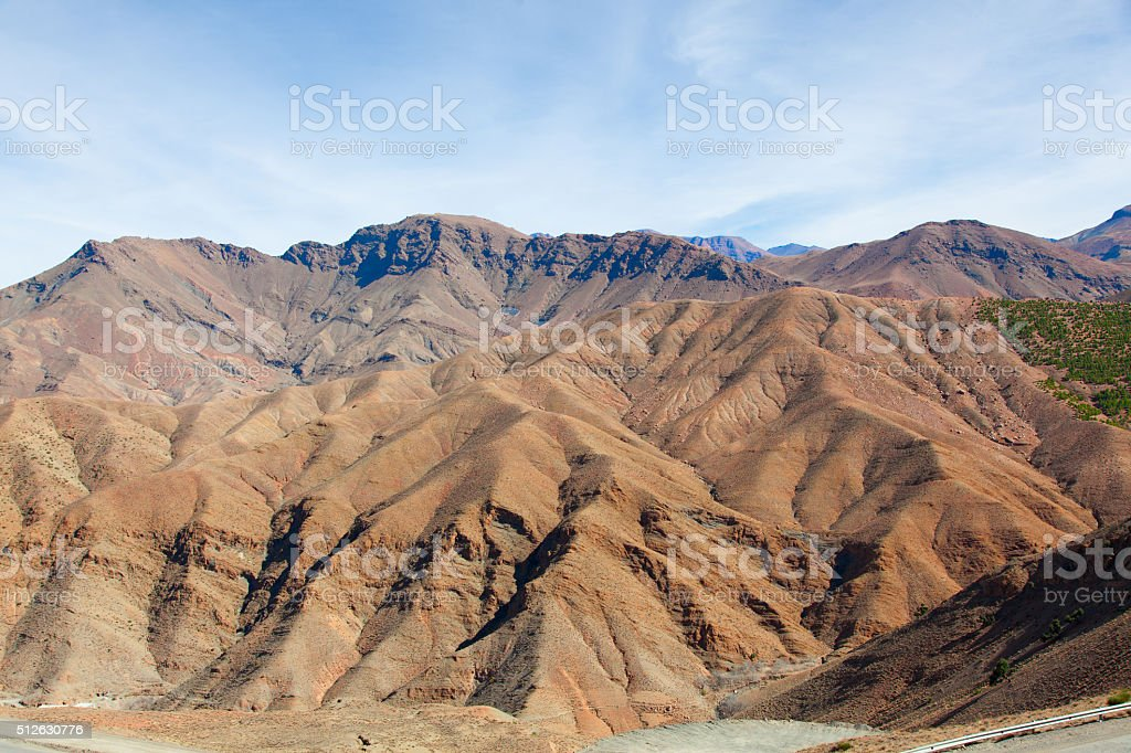 High Atlas mountains, Morocco, Africa stock photo