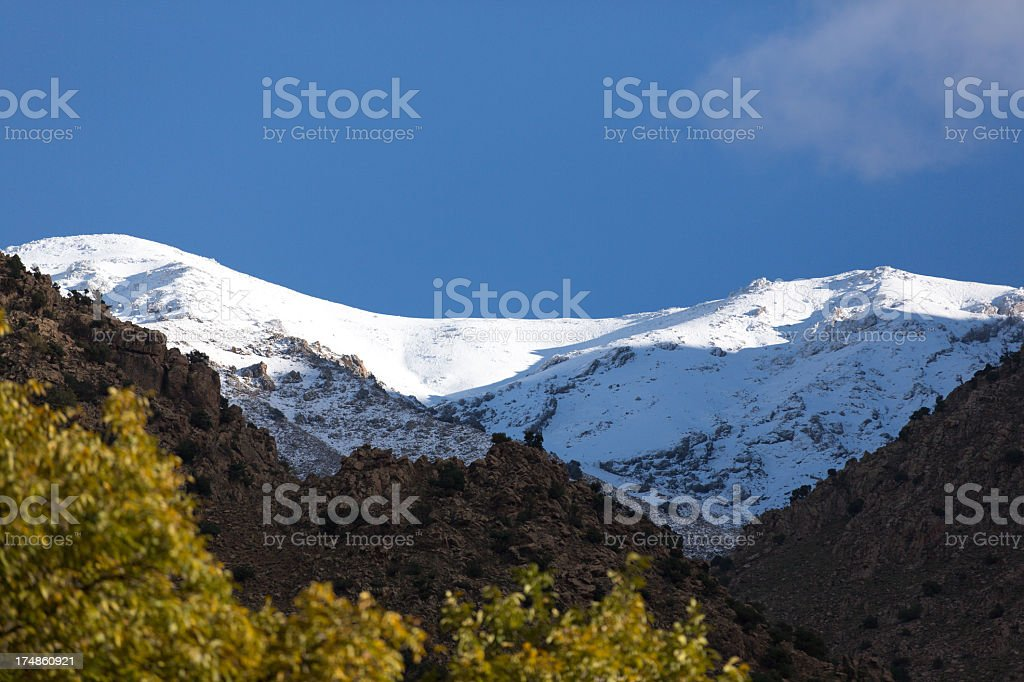 High Atlas royalty-free stock photo