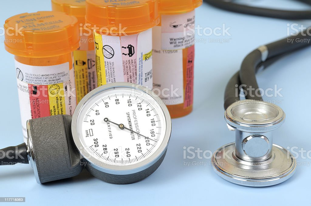High Blood Pressure royalty-free stock photo