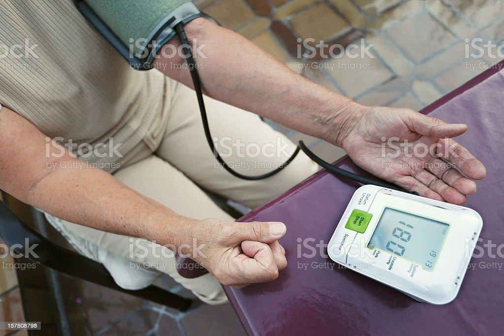 High Blood Pressure stock photo
