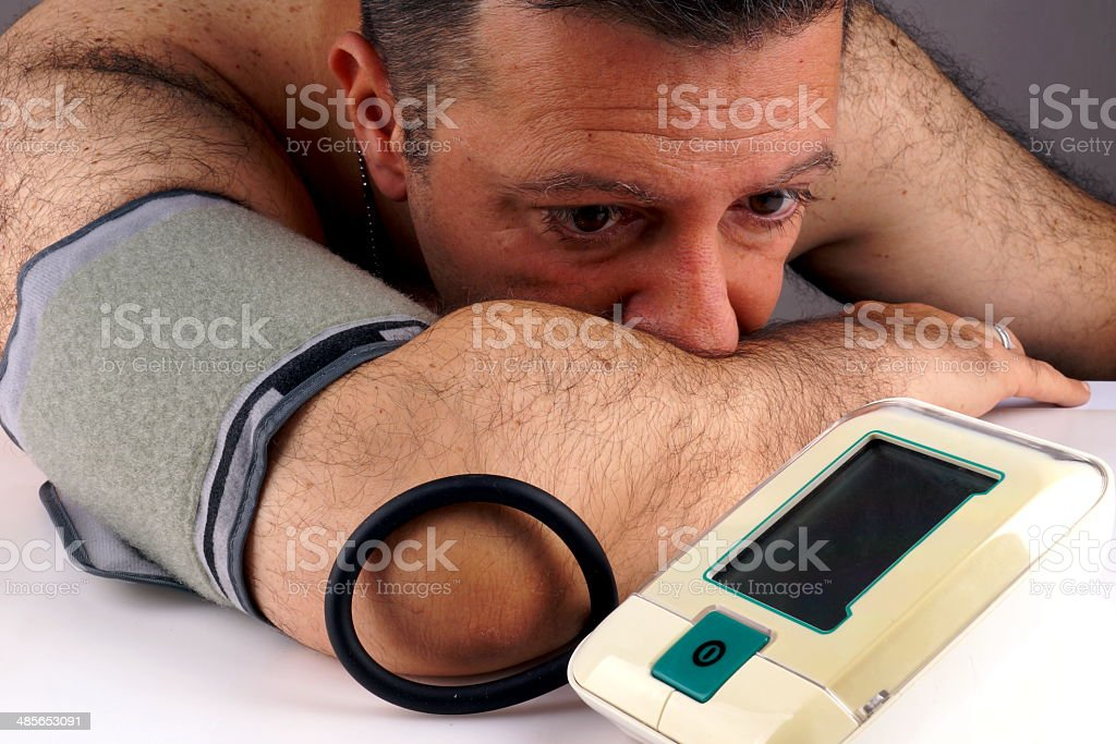 High Blood Pressure Preventing stock photo
