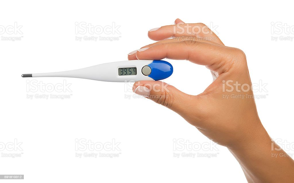 High Body Temperature stock photo