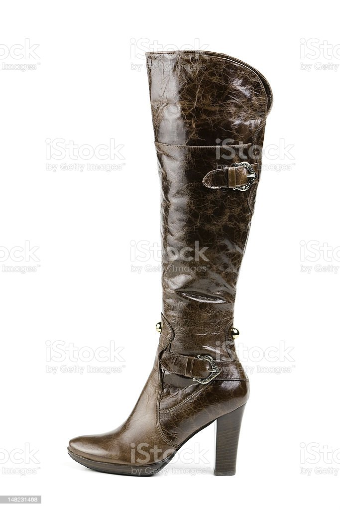 High boot stock photo