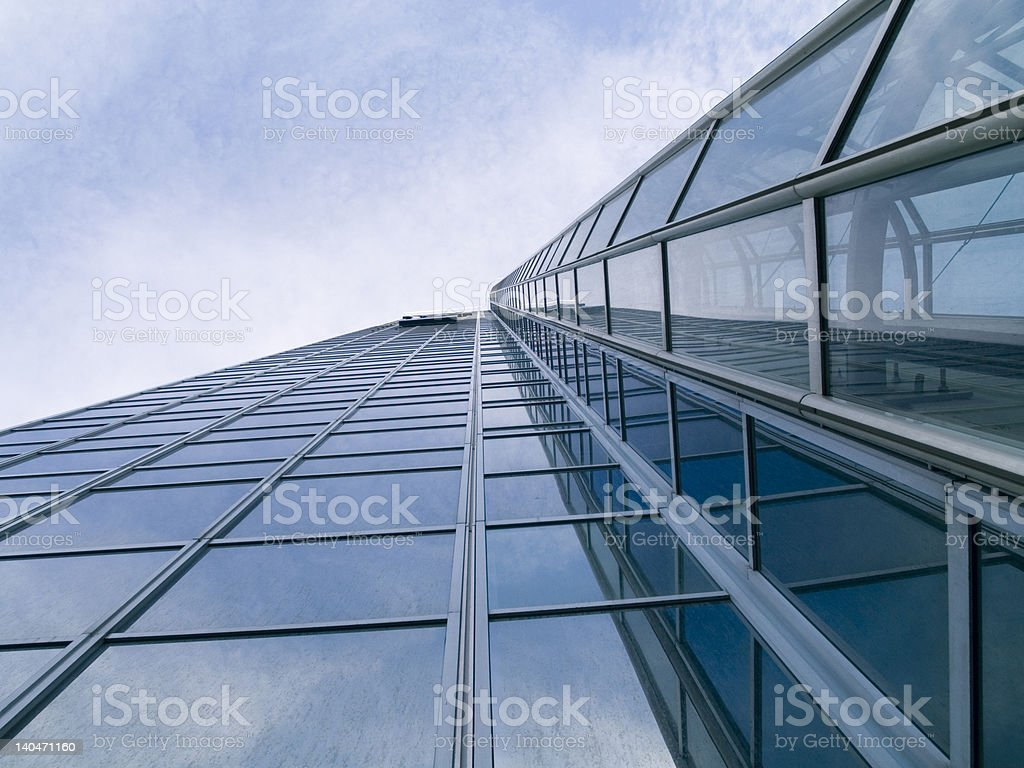 High building royalty-free stock photo