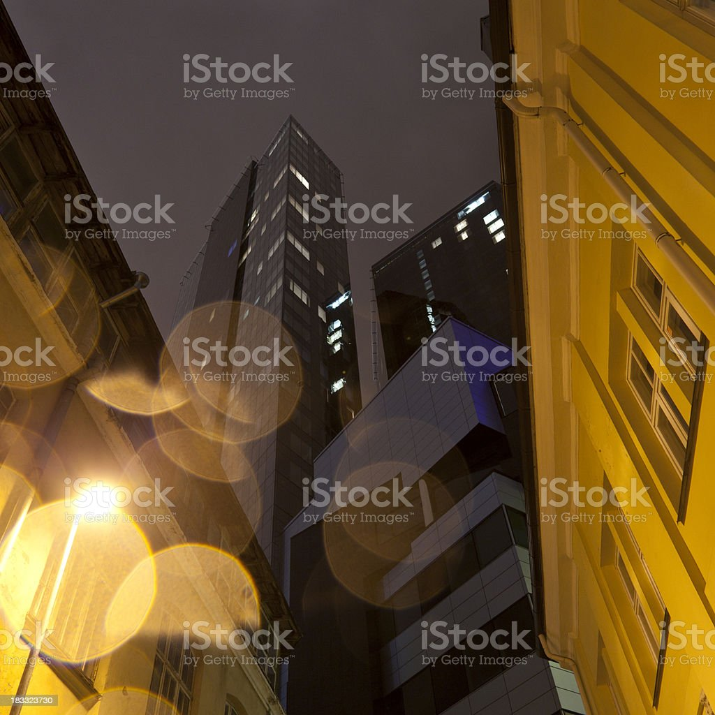 High buildings stock photo