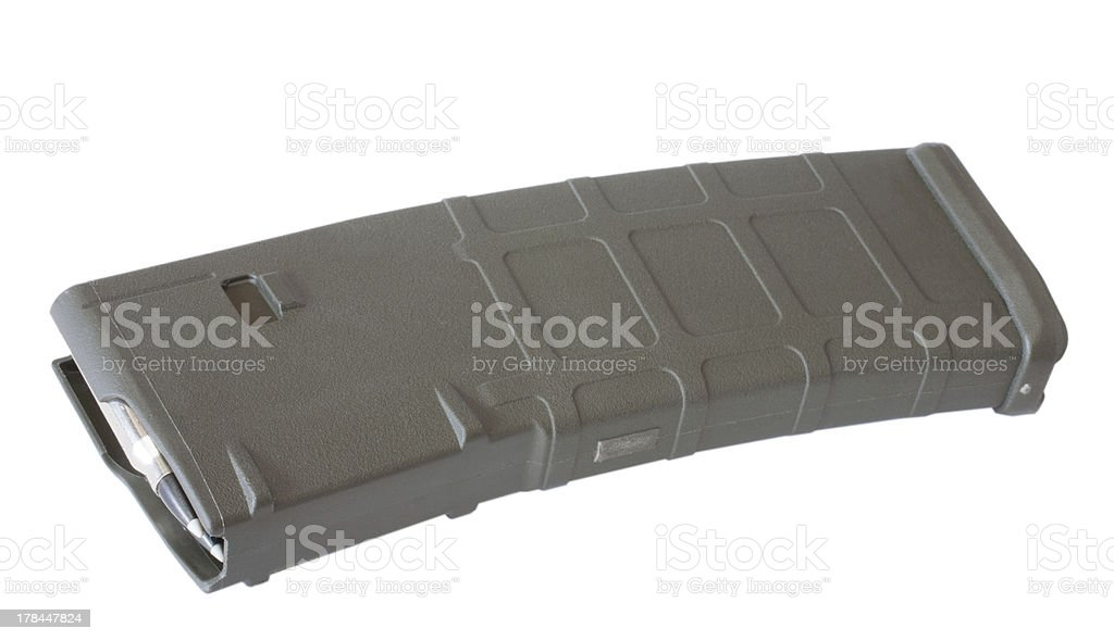 High capacity ammo supply stock photo