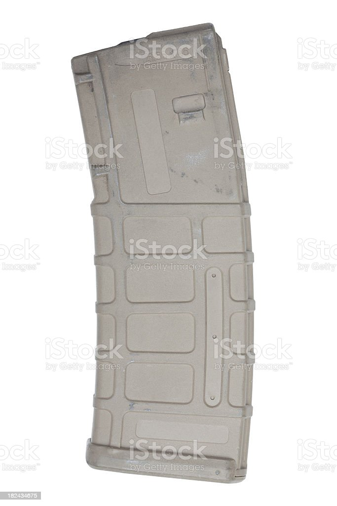 high capacity magazine stock photo