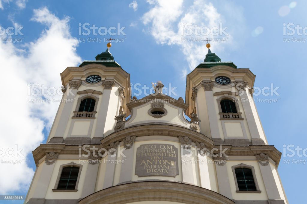 high church exterior stock photo