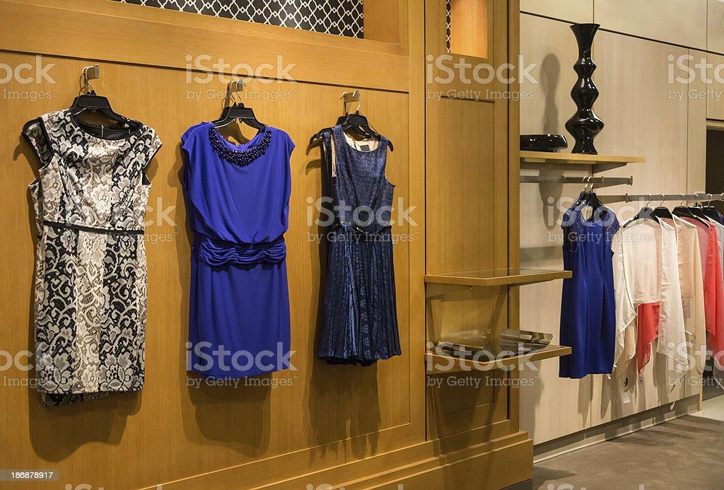 High class dresses stock photo