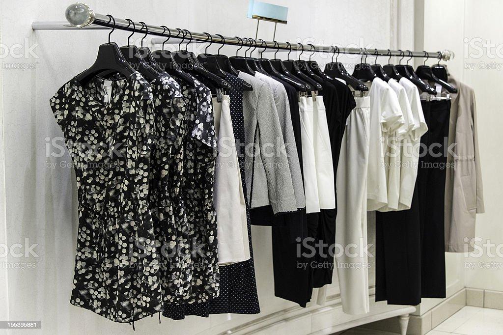 High class female clothing stock photo