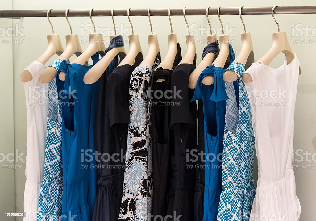 High class female clothing stock photo