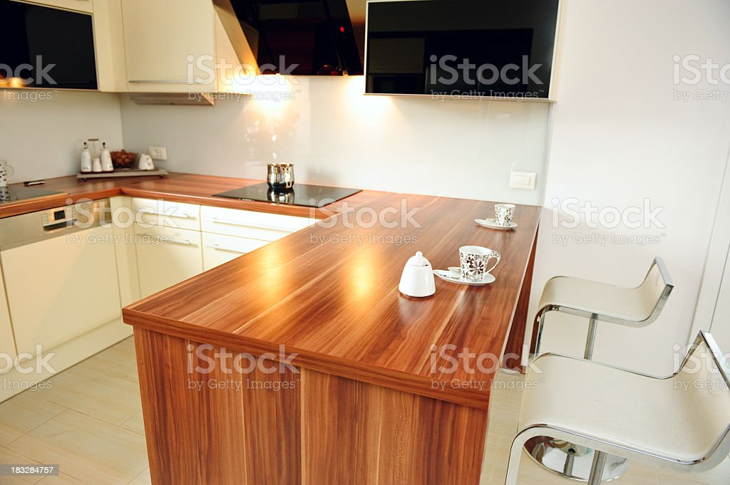 High class kitchen royalty-free stock photo