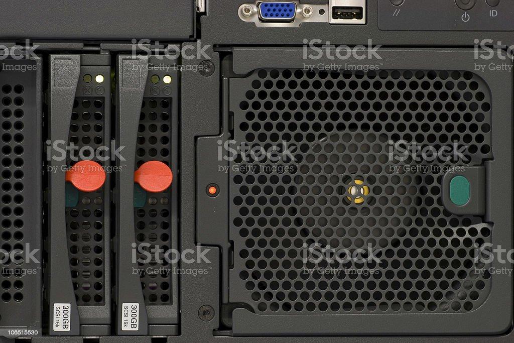 High computing power royalty-free stock photo