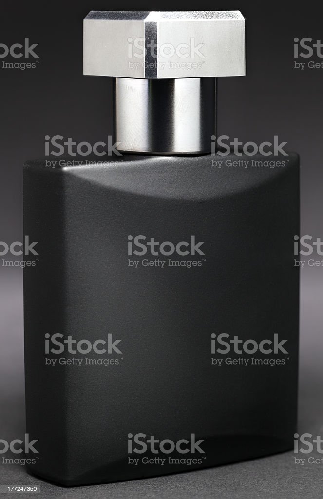 high contrast Aftershave royalty-free stock photo