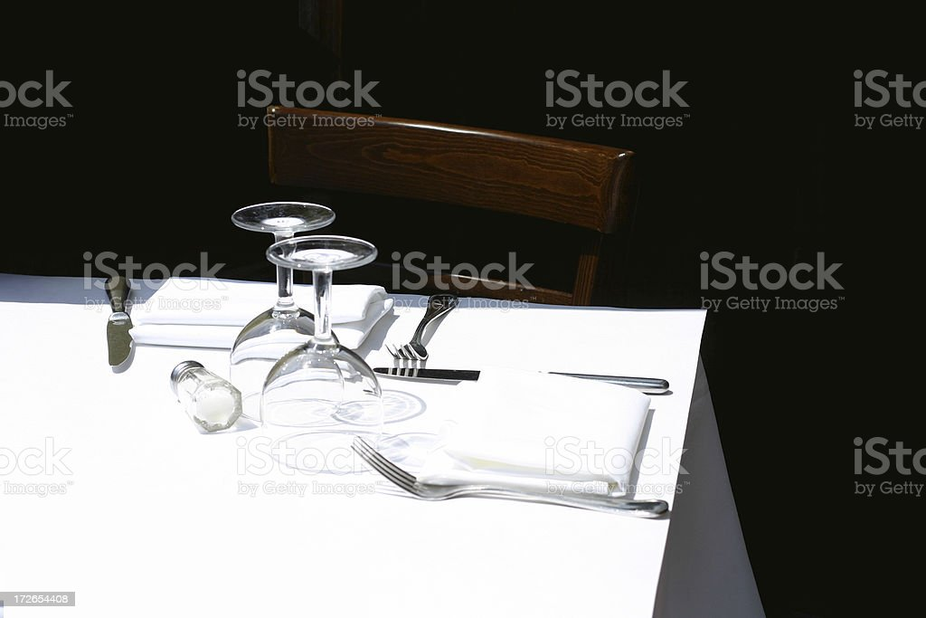 high contrast high noon royalty-free stock photo