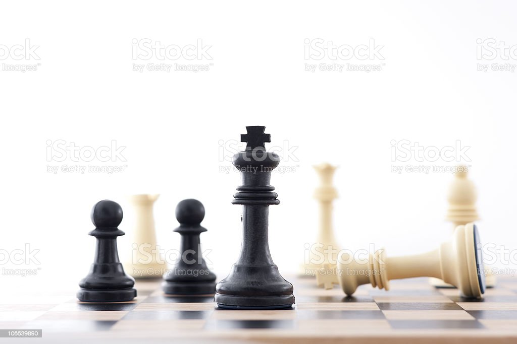 High contrast Winning Strategy royalty-free stock photo