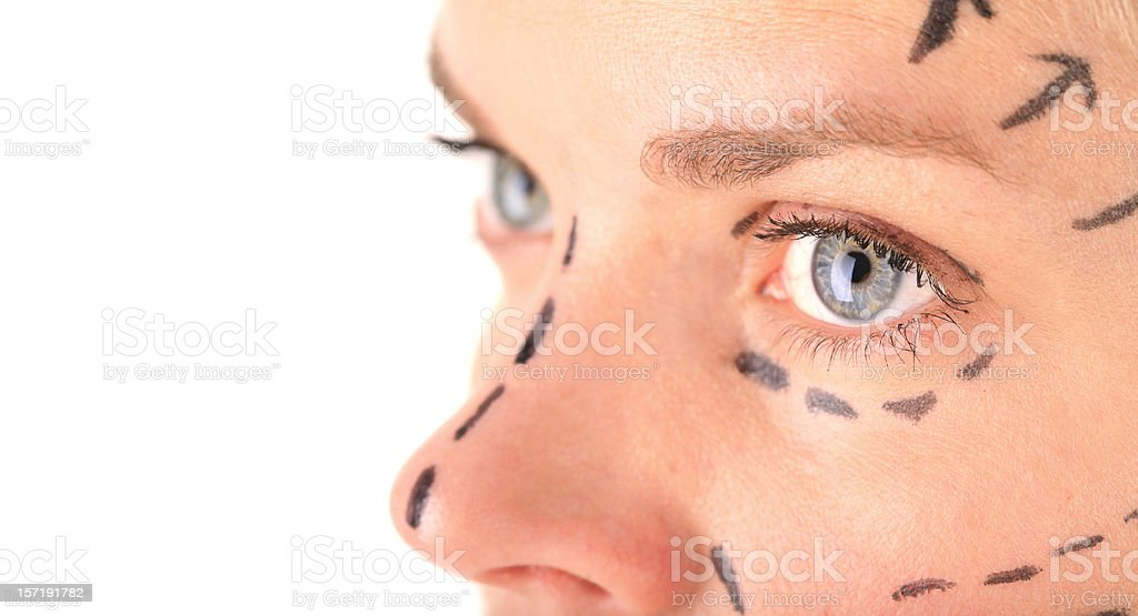 High Cost of Beauty stock photo