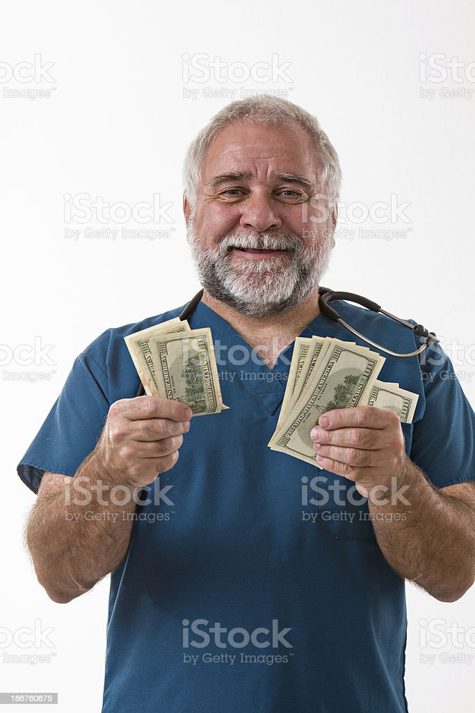 High Cost Of Medical Care royalty-free stock photo