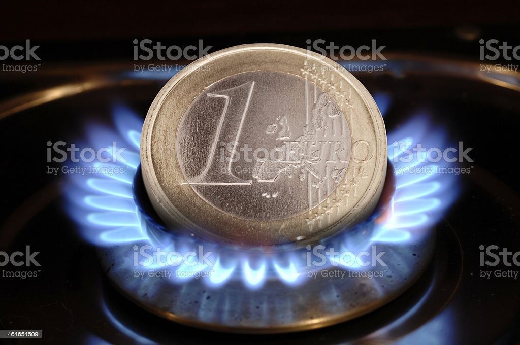 high costs for energy stock photo
