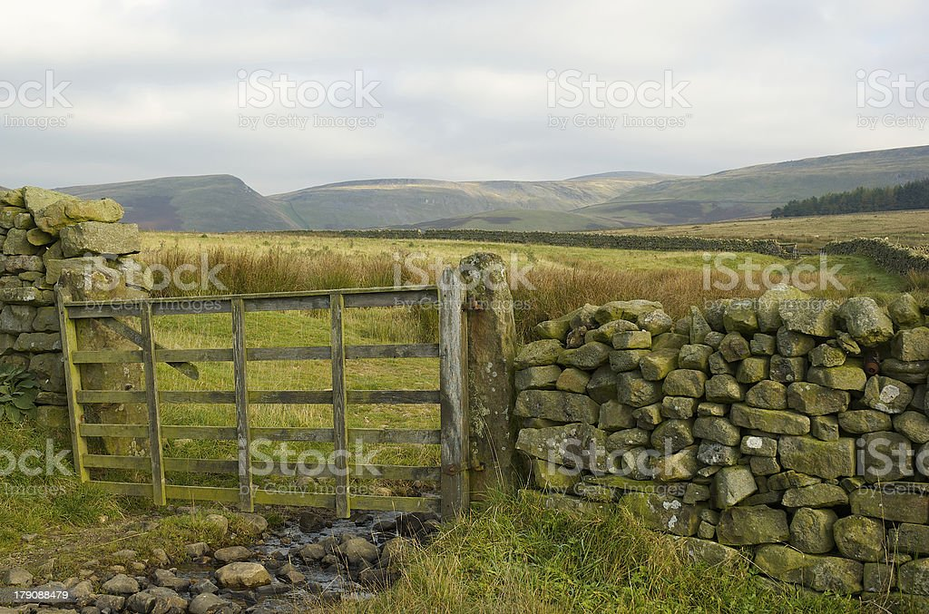 High country gateway royalty-free stock photo
