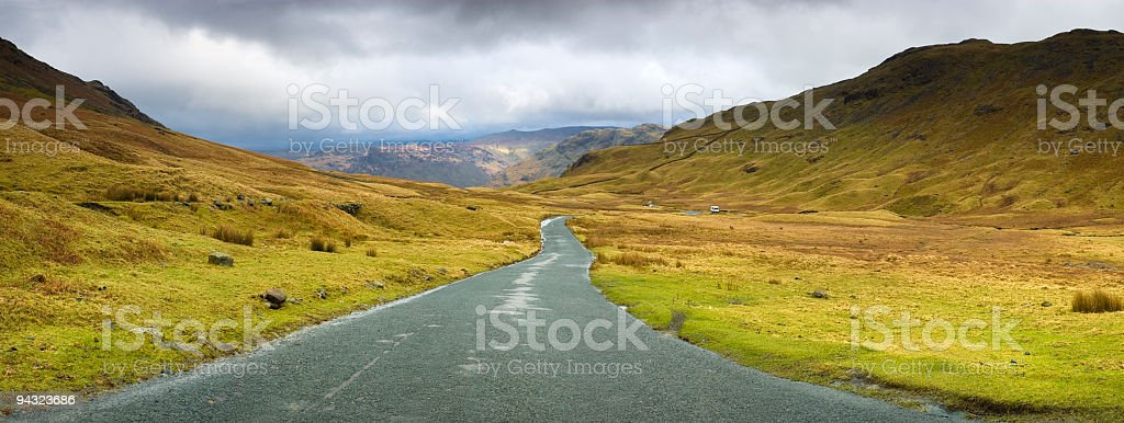 High country pass royalty-free stock photo