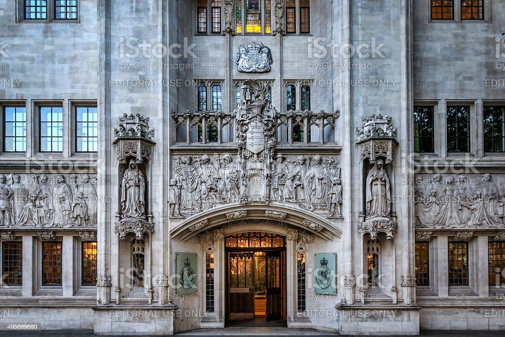 High court stock photo