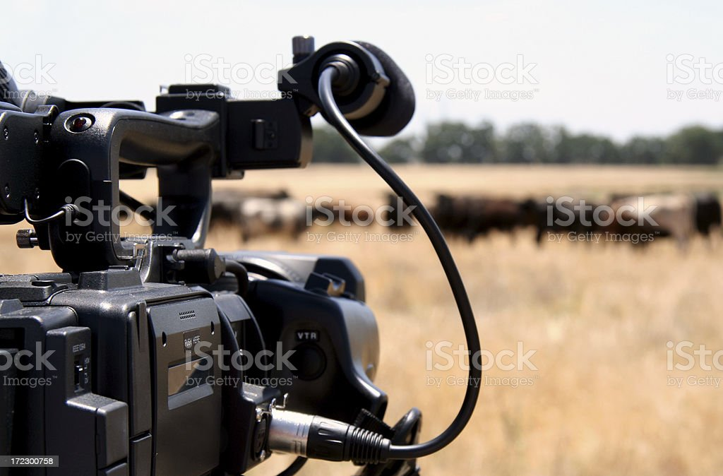 High Def Camera stock photo