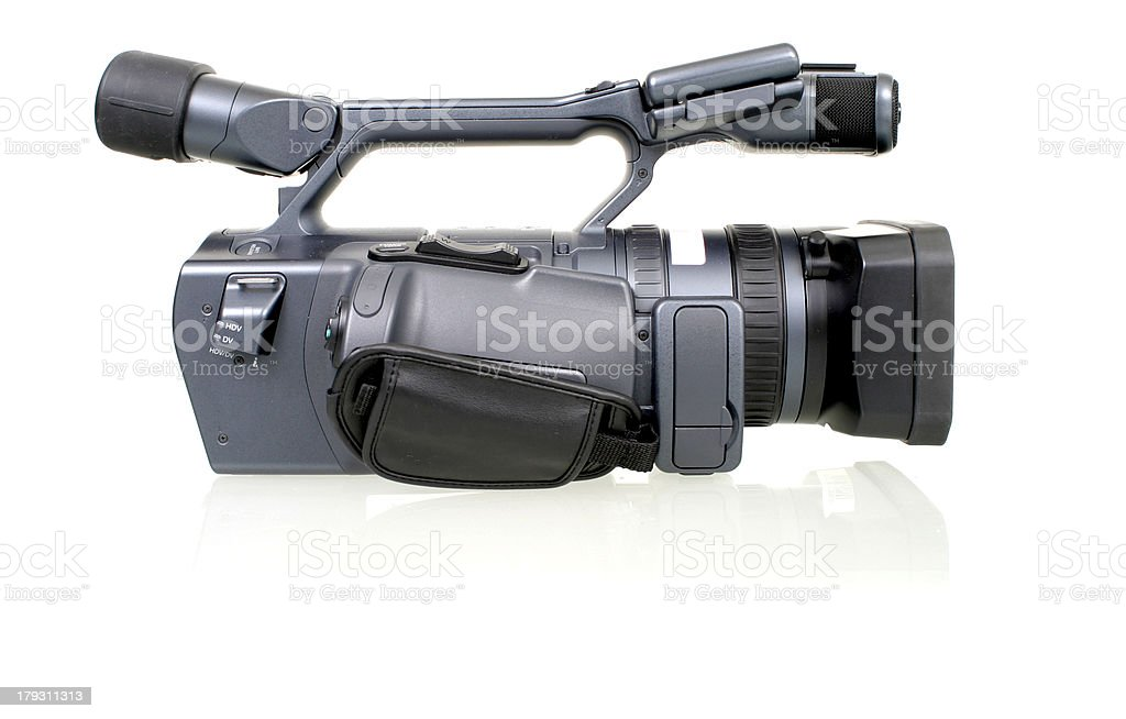 High Definition Camcorder (side) stock photo