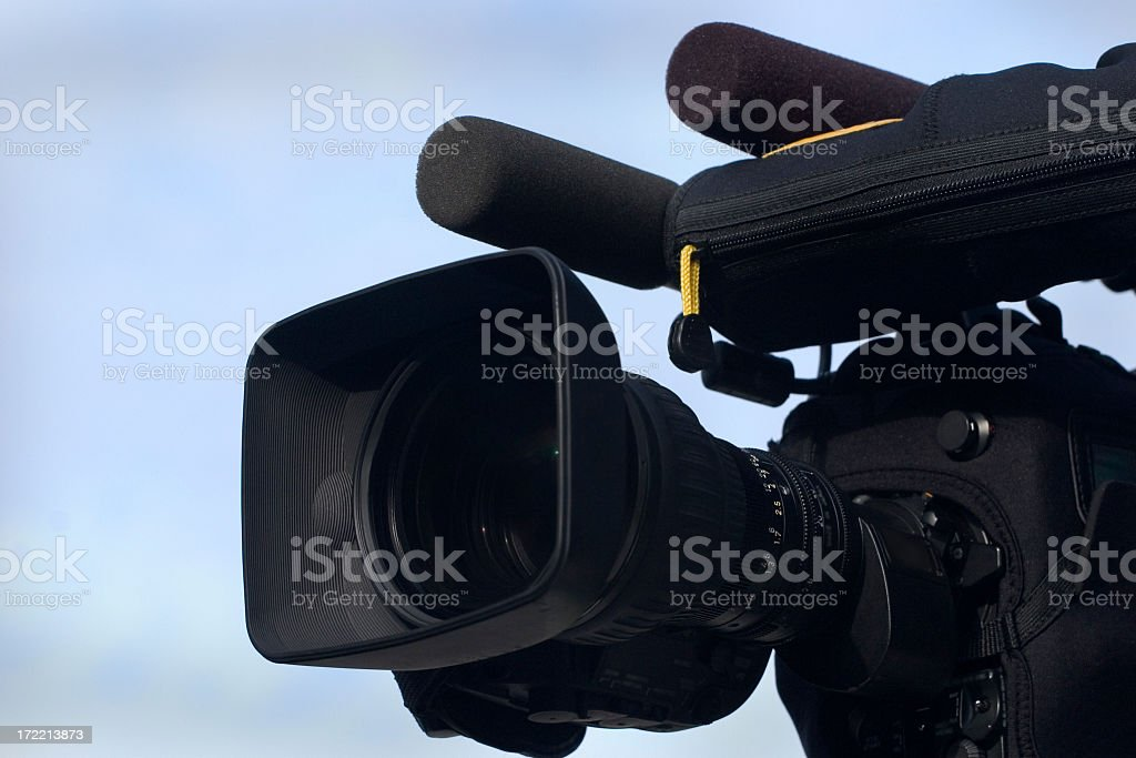 High Definition Camera royalty-free stock photo