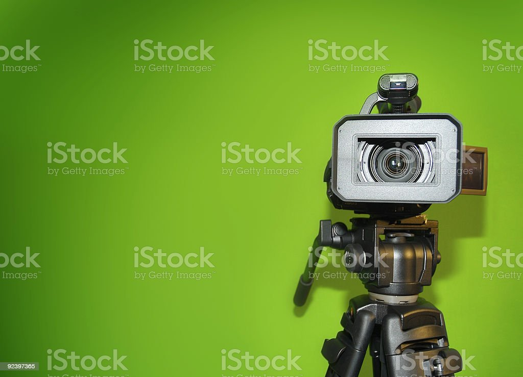 High Definition Camera stock photo
