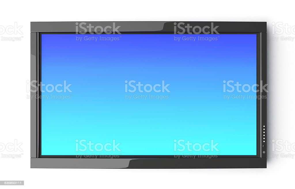 High Definition TV stock photo