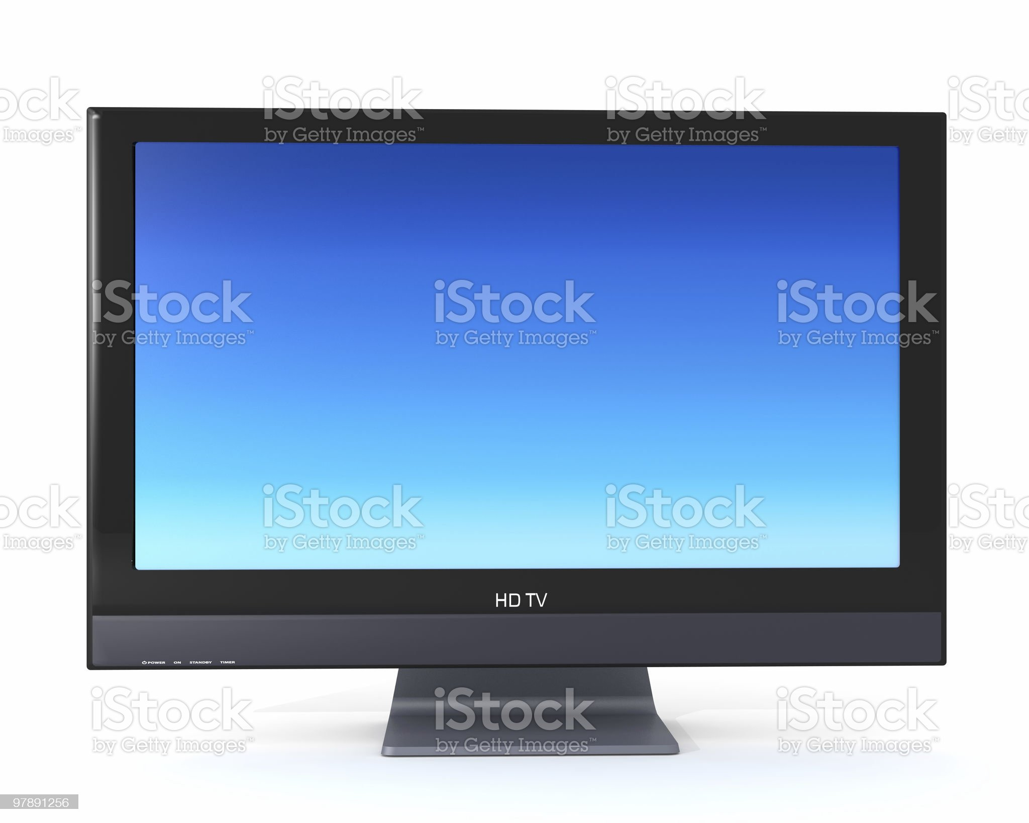 High Definition TV royalty-free stock photo